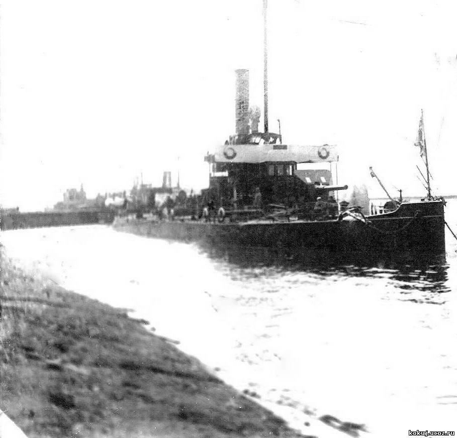 канонерские лодки типа вогул